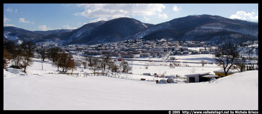 Holiday In Winter At Tramutola Italy